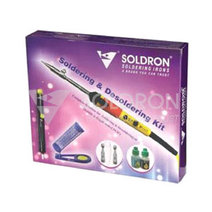 Soldron Soldering and Desoldering Kit.